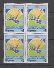 Philippine Stamps 2000 Battle of Cagayan De Oro Centennial Block of 4 Complete M