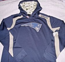 "NEW ENGLAND PATRIOTS ""NFL PRODUCTS"" HOODED CAMO SWEATSHIRT YOUTH XLARGE NEW $65"