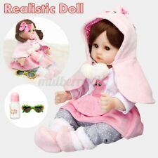 ❤19'' Lifelike Reborn Baby Dolls Handmade Newborn Vinyl Silicone Girl Xmas Gift