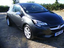 2017 VAUXHALL CORSA STING 3 DOOR SALVAGE DAMAGED REPAIRABLE SPARES OR REPAIRS