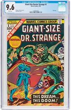 Giant-Size Doctor Strange #1 CGC 9.6 Marvel 1975 NM+! White! H3 123 cm clean