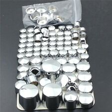 XH 2000-2005 2006 Harley Davidson Softail Twin Cam CHROME Bolts Toppers Caps