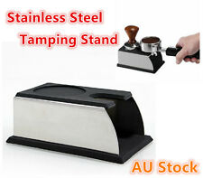 Coffee Tamper Holder Barista Tamping Station Espresso Machine Tool Rack Stand