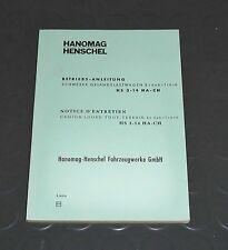 Betriebsanleitung Hanomag Henschel HS3-14 192 PS 6x6