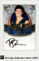 2009 Select AFL Pinnacle Draft Pick Signature DP10 Phil Davis (Adelaide)