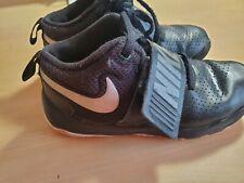 Boys youth size 13C (child) Nike Black Tennis Athletic Shoes (used)
