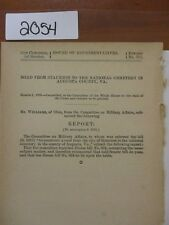 Govt Report Road from Staunton to  National Cemetery, Augusta County VA #2054A