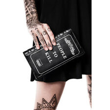 Killstar Gothic Goth Portemonnaie Geldbeutel Geldbörse Brieftasche - Kill List