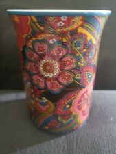 Vera Bradley Symphony In Hue Coffee Mocha Tea Chai Latte Mug Cup Barnes & Noble