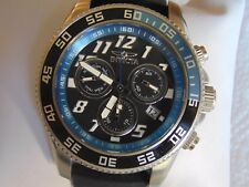 Invicta 50mm Pro Diver Swiss Z60 Mov't Chronograph Stainless Steel Watch L@@K!!!