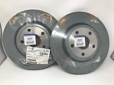 11-17 Dodge Durango Jeep Grand Cherokee Front Brake Disc Rotor Mopar New Pair