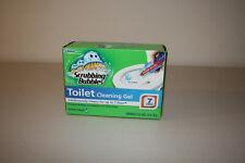 Scrubbing Bubbles Toilet Cleaning Gel 1 Dispenser 6 Gel Discs Brand New