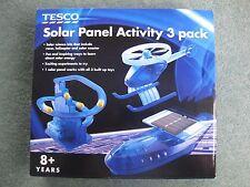 Tesco Pannello Solare 3 in 1 pacchetto di attività, la scienza Attività Educativa
