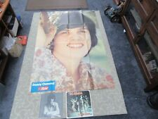 Vintage 1974 Star Magazine The Osmonds Donny Osmond Huge Poster Photo & Program