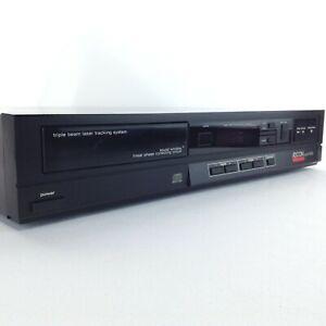 ADCOM Vintage 1985 Black CD Compact Disc Player MODEL GCD-300 - TESTED NO REMOTE