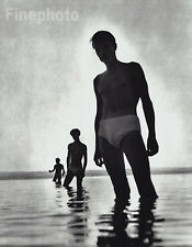 1950/88 Vintage SEMI NUDE MALES  HERBERT LIST Germany Photo Art