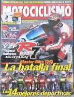 REVISTA MOTOCICLISMO,AÑO 1999,NUMERO 1622,las 14 mejores deportivas.