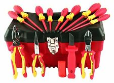 Wiha 32878 Insulated Tool Set w/ Pliers, Cutters, Slotted & Phillips Screwdriver