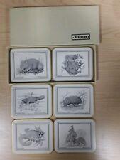 Jason placemats Australian animal sketches. boxed.