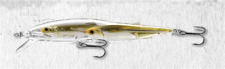 "LIVETARGET Glass Minnow Jerkbait ""Silver Natural"""