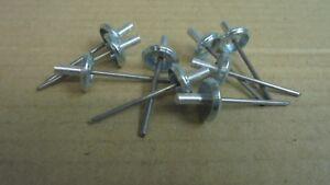Triumph STAG ** TONNEAU COVER CHROME Moulding CLIPS ! ** 626479 x 9