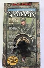 NEW 1996 REALTREE All Stars Of Spring IV VHS Tape Sealed Turkey Hunting