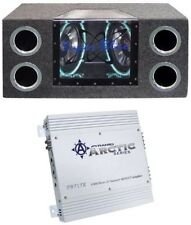 Pyramid BNPS102 10-Inch 1000W Subs Box Subwoofers Bandpass With 2 Channel Amp