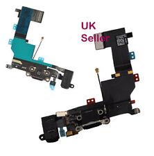 iPhone 5s Black USB Dock port Charging flex Headphone Jack Mic -Grade A + tools