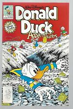Donald Duck Adventures 1 Disney Comics 9.6 NM 1990 High Grade Don Rosa +
