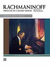 Prelude in C-sharp minor, Op. 3 No. 2: Sheet (Alfred Masterwork Edition)