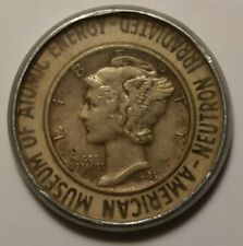 1943 American Museum Of Atomic Energy Irradiated Dime 9920