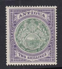 ANTIGUA SG50 1912 2/= GREY-GREEN & VIOLET MTD MINT