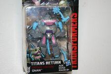 Transformers Titans Return Gnaw Sharkticon Legends Class figure. MOSC!