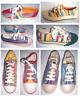OILILY Turnschuhe Mädchen Jungen Halbschuhe viele Größen Muster Textil Schuhe