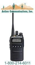 NEW VERTEX/STANDARD VX-454, UHF 400-470 MHZ, 5 WATT, 512 CHANNEL TWO WAY RADIO