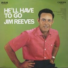 JIM REEVES - HE'LL HAVE TO GO  -  LP