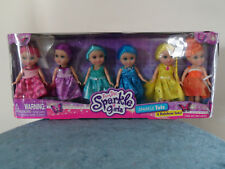 "Lot 12 Funville Sparkle Girlz Rainbow Tots 6"" Dolls"