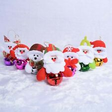 Hot Sale Christmas Tree Party Cute Jingle Bell Ornaments Xmas Hanging Decoration