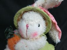 BURTON + SPRINGTIME BUTTON LEGS BALLS FLOPPY CREAM EASTER BUNNY RABBIT PLUSH