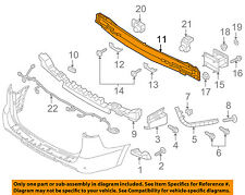 KIA OEM 15-16 Sedona Rear Bumper-Impact Reinforcement Bar Rebar 86631A9000