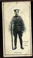 Tobacco Card, Imperial Canada, INFANTRY TRAINING, 1915, Stand at Ease, #1