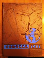 "1951 University of Alabama Crimson Tide ""Corolla"" College Yearbook- MINT"