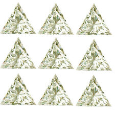 Loose Moissanite Diamond 4 Ring 4.61 ct Vs1-5pc(0.80-1.00ct)Near White Triangle