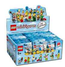 NEW SEALED LEGO Box/Case 71005 of 60 MINIFIGURES SERIES S - Simpsons
