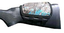 Rifle Cheek Pad / Cheek Riser / CheekRest by ITC Marksmanship / Blue Cordura