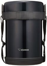Zojirushi Lunch Box Bento Stainless Thermos Food Jar SL-GG18-BD Navy Black New