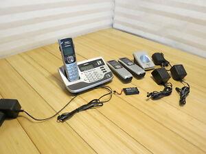 Uniden TRU8885 PowerMax 5.8 Ghz Answering System Lot, See Description