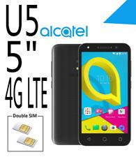 ALCATEL - U5 5044D Noir/cocoa gray b/ szary 4G LTE  8 Go Double Sim  Smartphone