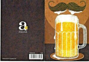 Avanti Press Mustache And Mug A-Press Father's Day Card