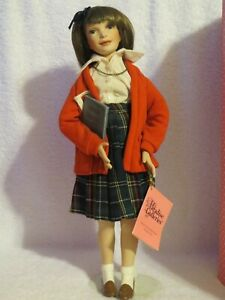 Paradise Galleries Treasury Collection Premiere Edition School Porcelain Doll